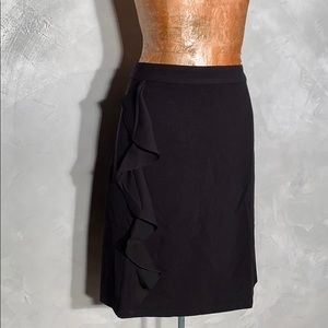 NWT Modcloth Side Ruffle Vintage Inspired Skirt